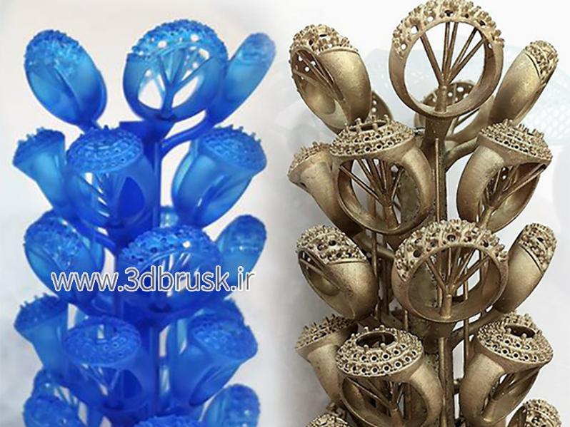 شاخه کردن موم ها در جواهرات