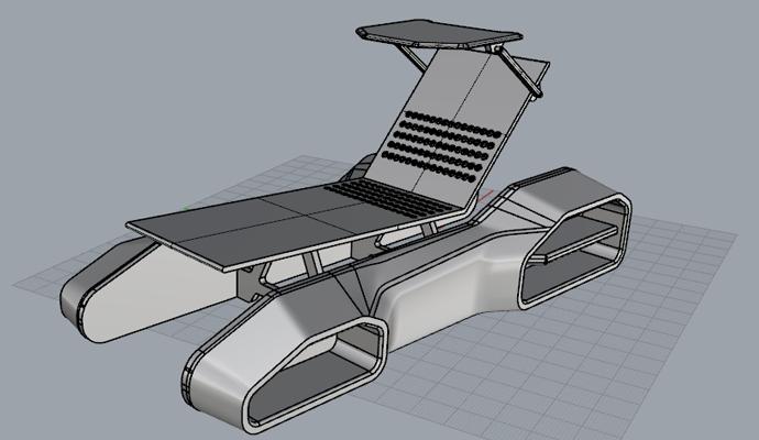 سه بعدی صندلی