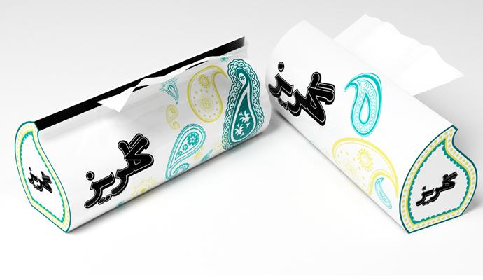 مدلسازی جعبه دستمال