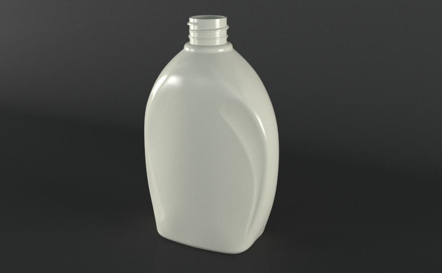 طراحی سه بعدی بطری مایع
