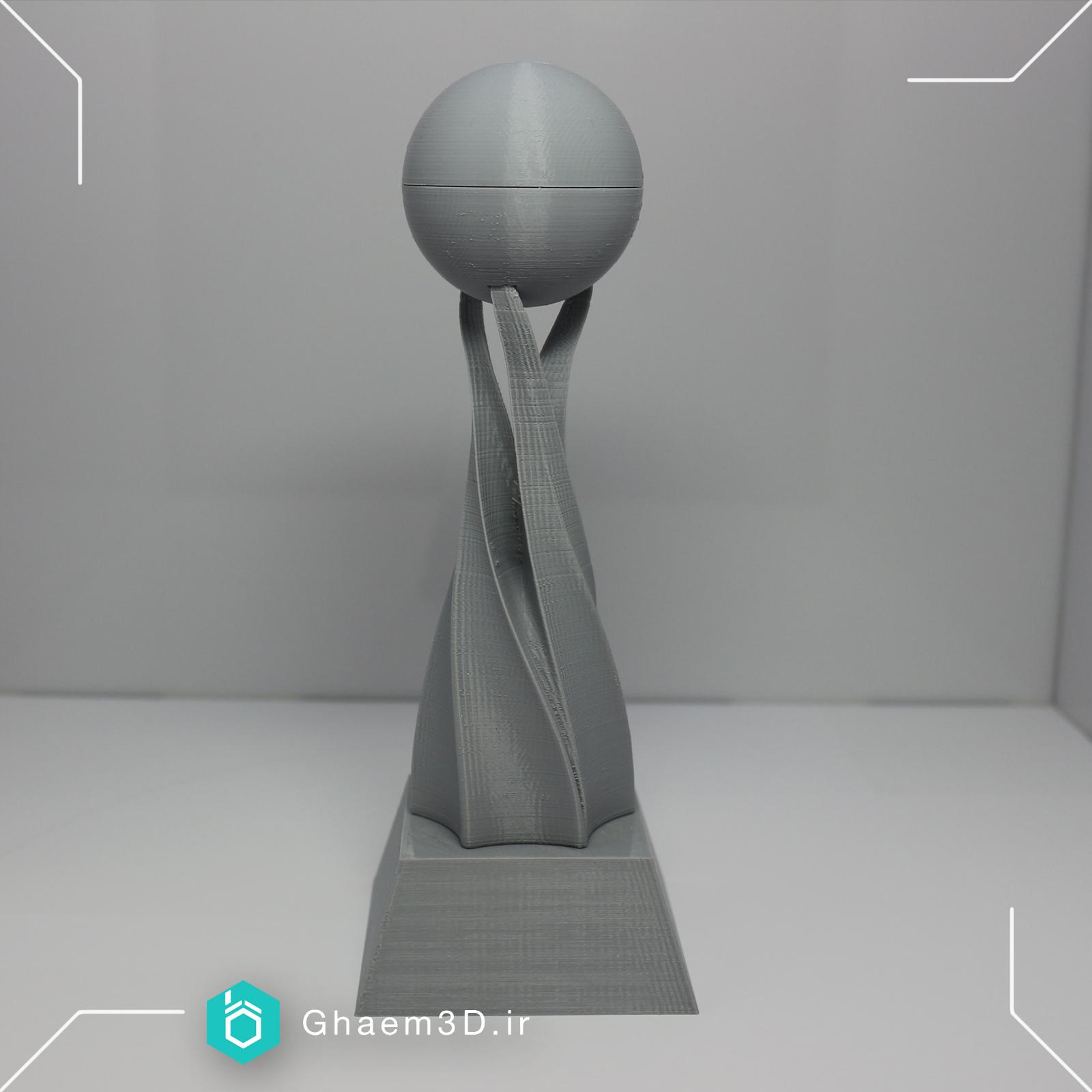 ساخت تندیس با پرینتر سه بعدی
