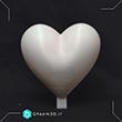 b002 ساخت قلب با پرینت سه بعدی برای قالبگیری