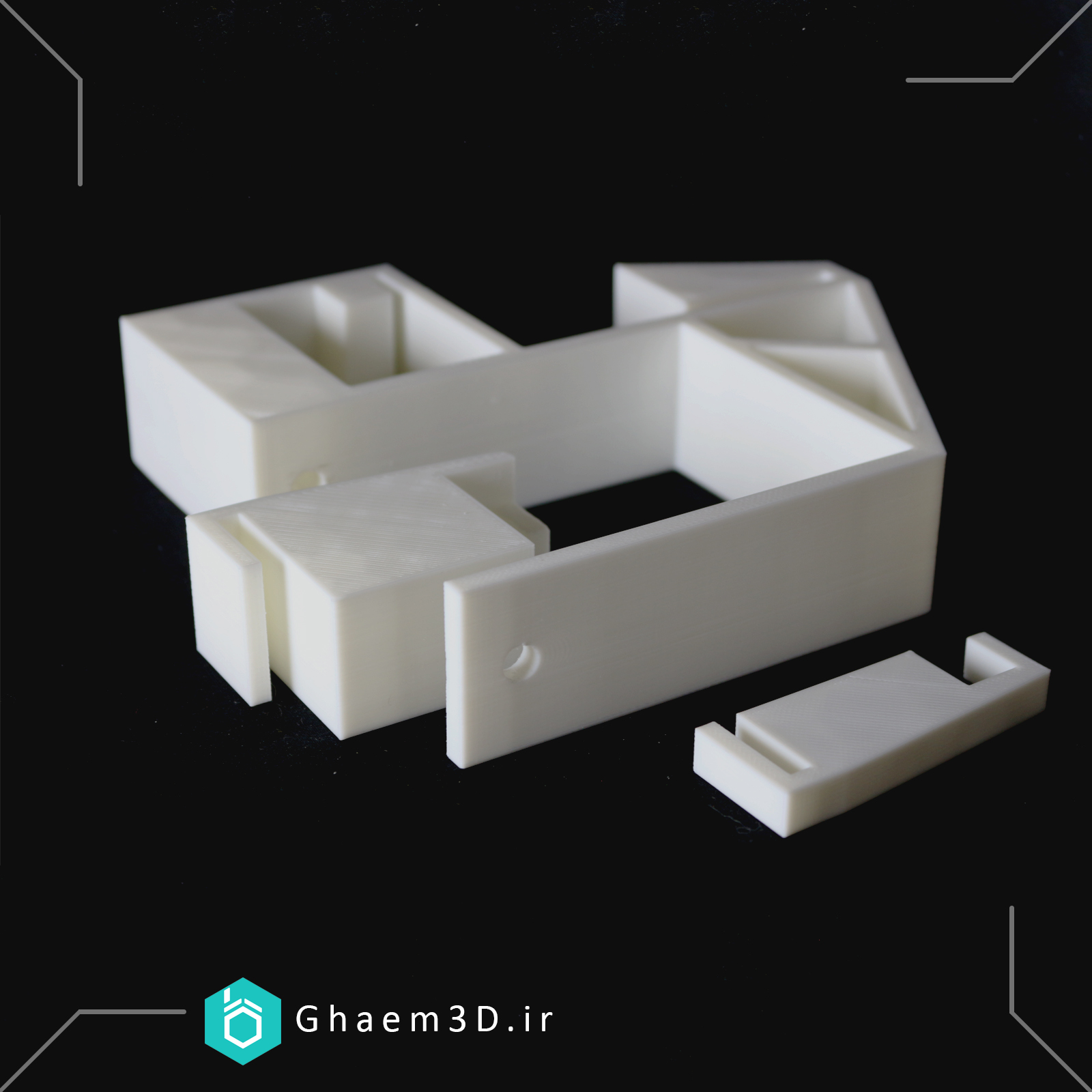 پرینت سه بعدی قطعه صنعتی
