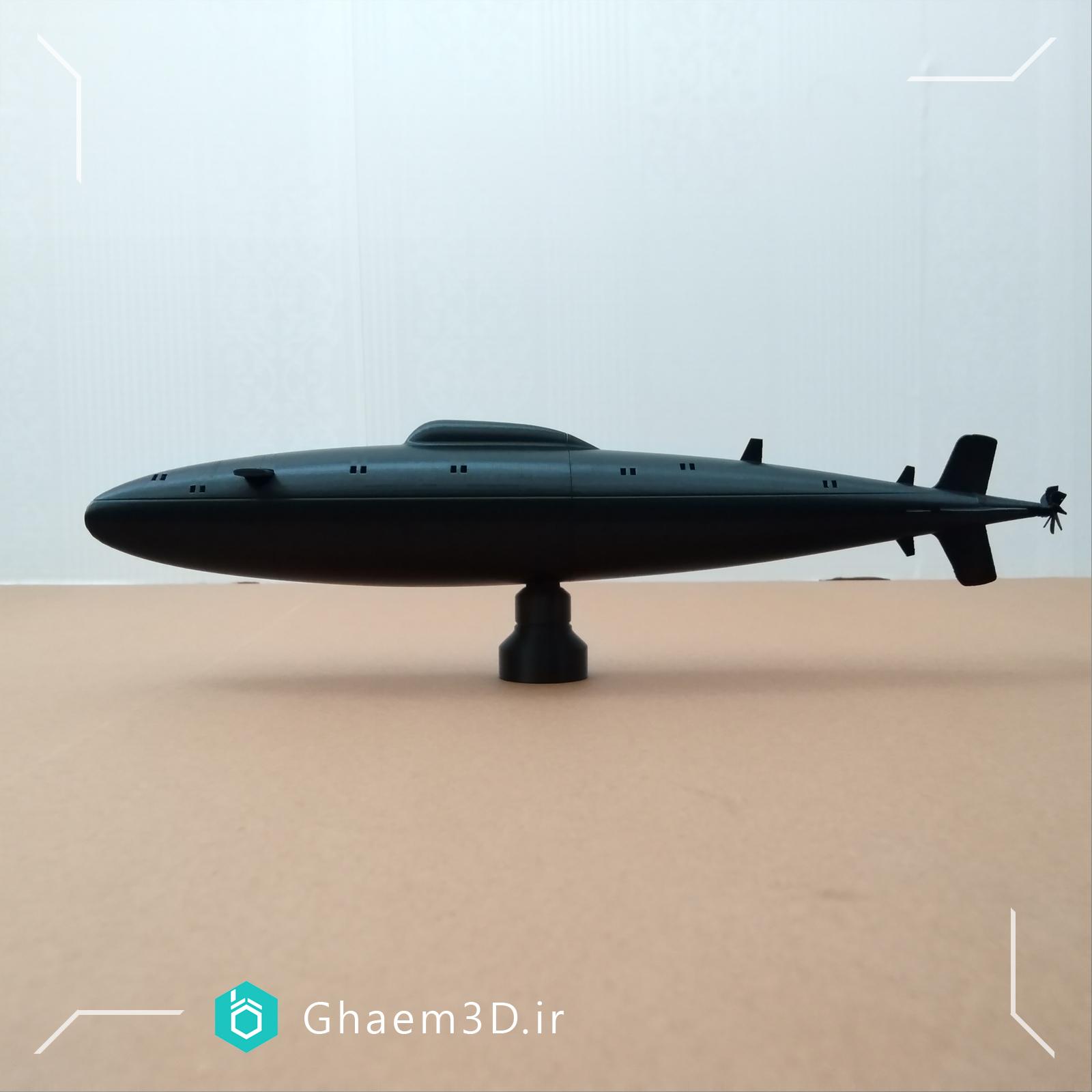طراحی ماکت زیردریایی