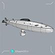 t004 طراحی ماکت زیردریایی