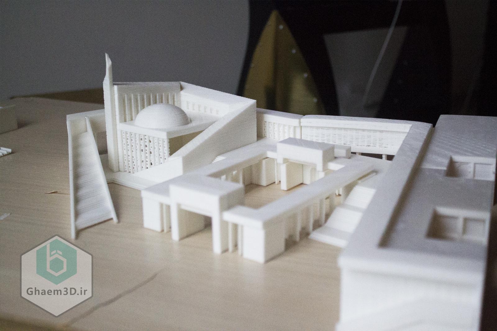 پرینتر سه بعدی مشهد ماکت معماری